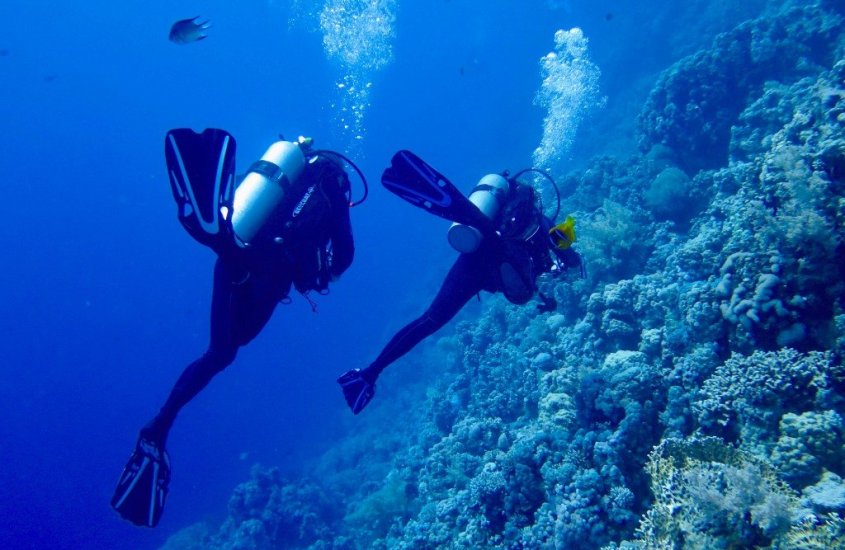 10 great reasons to go diving with your partner in life