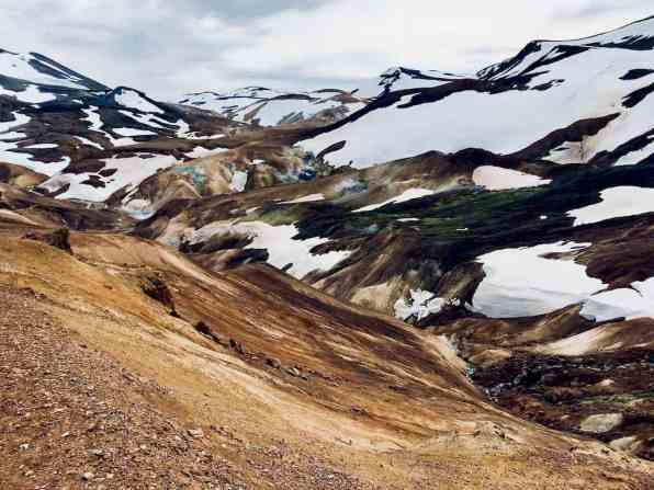 Promenade des sorcières en Islande