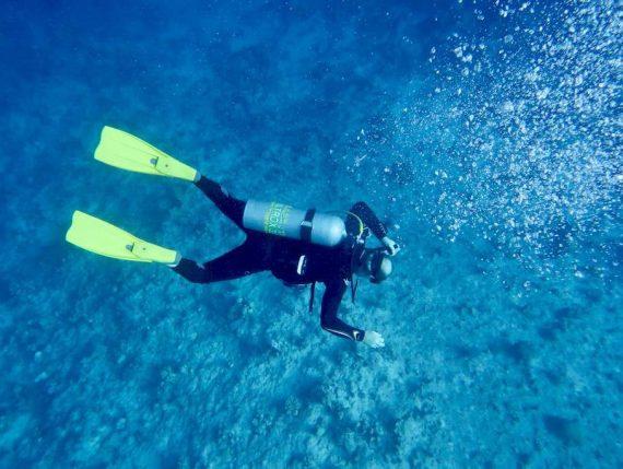 Un plongeur accidenté dans les eaux chaudes de la Mer Rouge