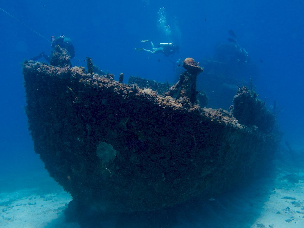 Epave du SS Kathryn en Jamaïque
