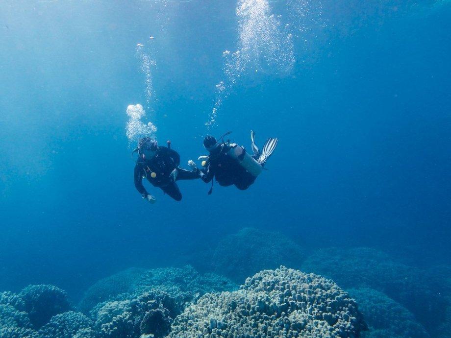 Parfois on peut rencontrer un plongeur qui ne veut pas passer de niveaux dans sa formation comme ce fut le cas avec Karl sur la photo prise en Egypte