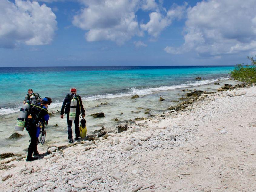 Pouvoir aller plonger partout autour du monde
