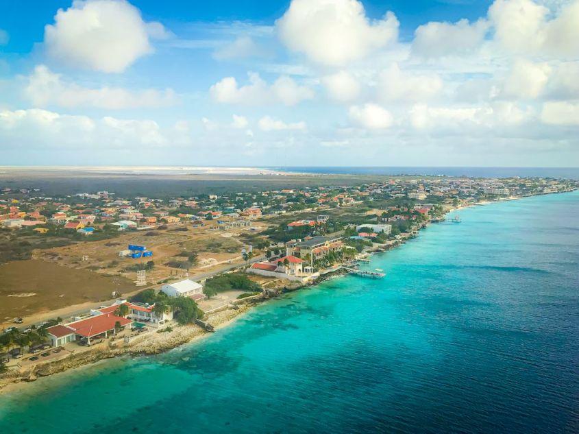 Bonaire vu du haut