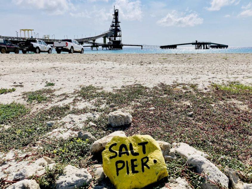 Le site de plongée du Salt Pier de Bonaire