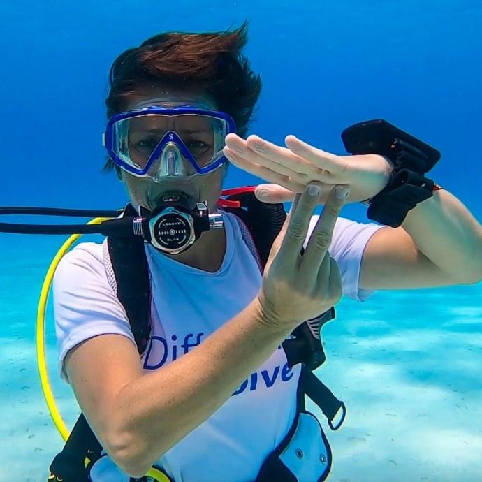 Signes de plongée : palier de 3 minutes