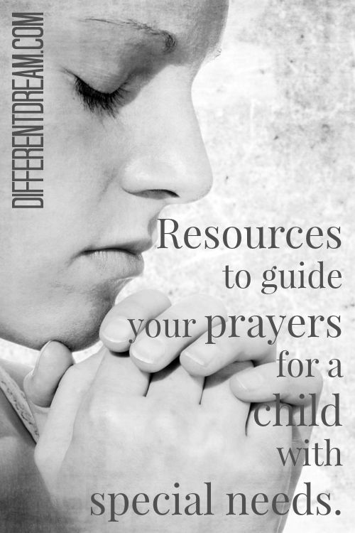Wondering how to pray for a child with special needs? These free resources offer guidance and help.