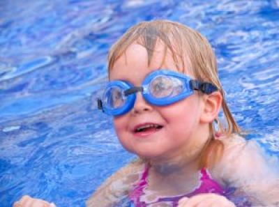 Guest blogger Ellen describes what she learned during the first day of her daughter's adaptive swimming lessons for kids with special needs.