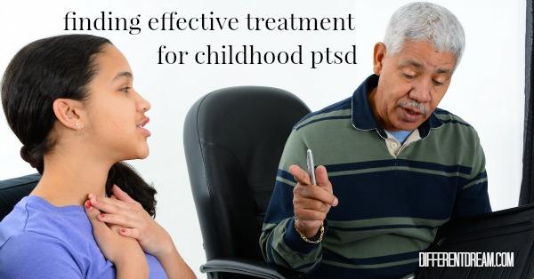 Effective Treatment of PTSD in Children