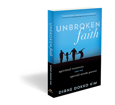 Diane Dokko Kim talks about her family and the encouragement offered to parents of kids with special needs and disabilities in her new book, Unbroken Faith.