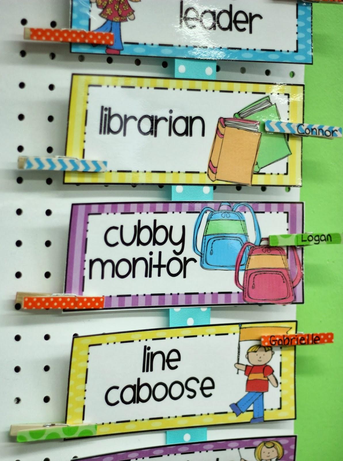 Differentiated Kindergarten S Classroom Helpers