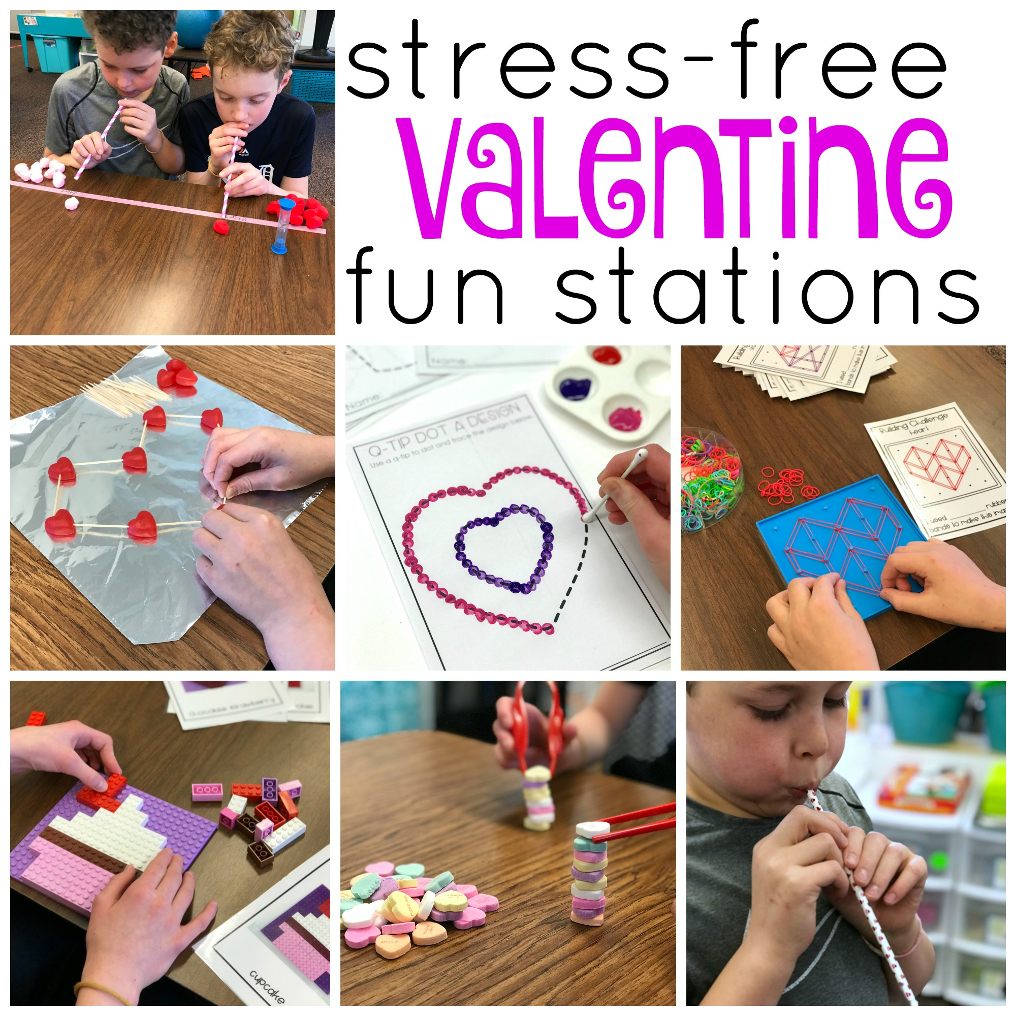 Stress Free Valentine S Day Fun Stations