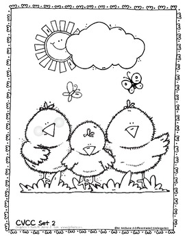 I-Spy Signs of Spring Word Work- Differentiated and