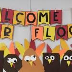 Thanksgiving Turkey Bulletin Board Banner Differentiated Kindergarten