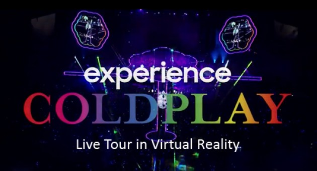 Coldplay live concert
