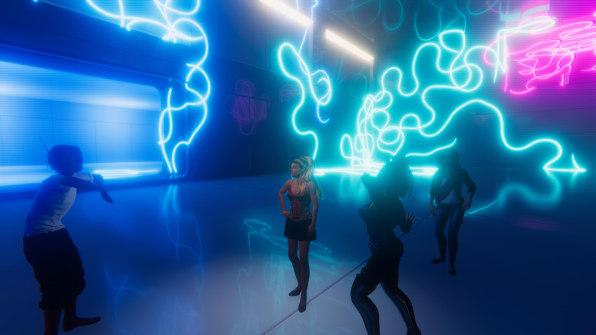 Sinespace dancing