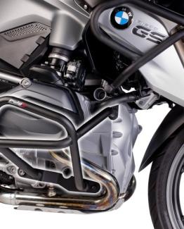BMW R1200GS LC (2014 - 2017) Defensas Inferiores + Superiores Puig Color Negro - Ref. 7542N + 7543N