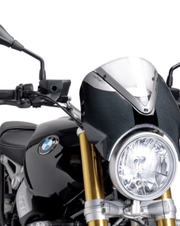 Cúpula Naked BMW R NINE T (2014-2017) Puig Color Transparente Carcasa Carbono - Ref. 7559W
