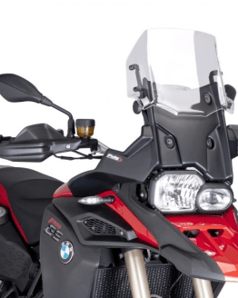 Cúpula Touring BMW F800 GS ADV (2013-2016) Puig Color TRANSPARENTE - Ref. 7307W