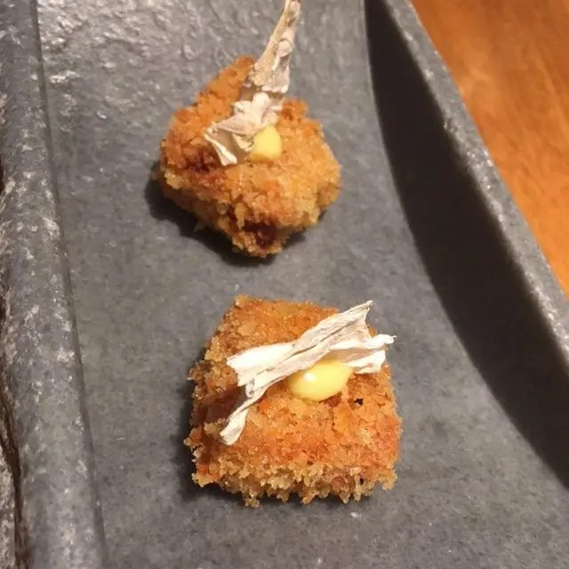 Pork Vindaloo Cutlet at Gaggan
