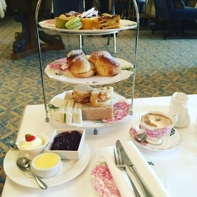 Afternoon tea is one of the fun things to do in Guernsey