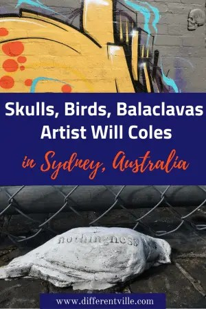 Sydney Street Artist Will Coles is famed for his love of strong adhesive - and the quirky works he posts in Sydney and beyond. Here's where to find the work of Will Coles in Sydney. #willcoles #sydneystreetart #thingstoseeinsydney