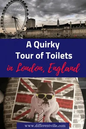 If you're looking for something unusual to add to your list of things to do in London, we have just the think - the London Loo Tour. It's got to the most unusual tour in London. #london #londontours #thingstodoinlondon