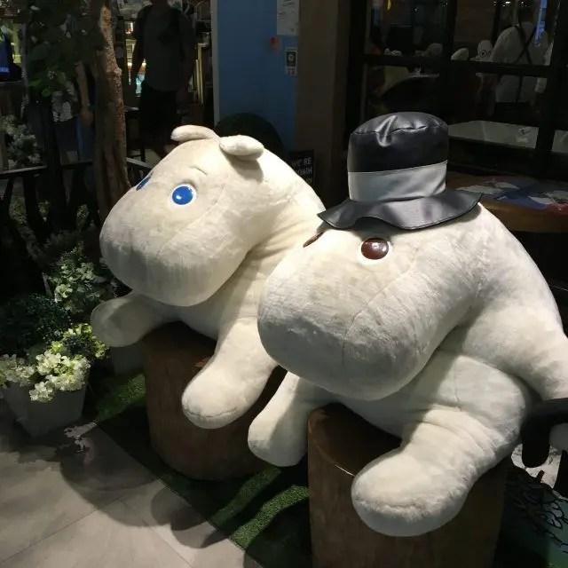 Bangkok theme cafes - unicorns, moomins and mermaids oh my