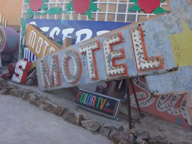 The Neon Museum in Las Vegas is full of amazing old signs