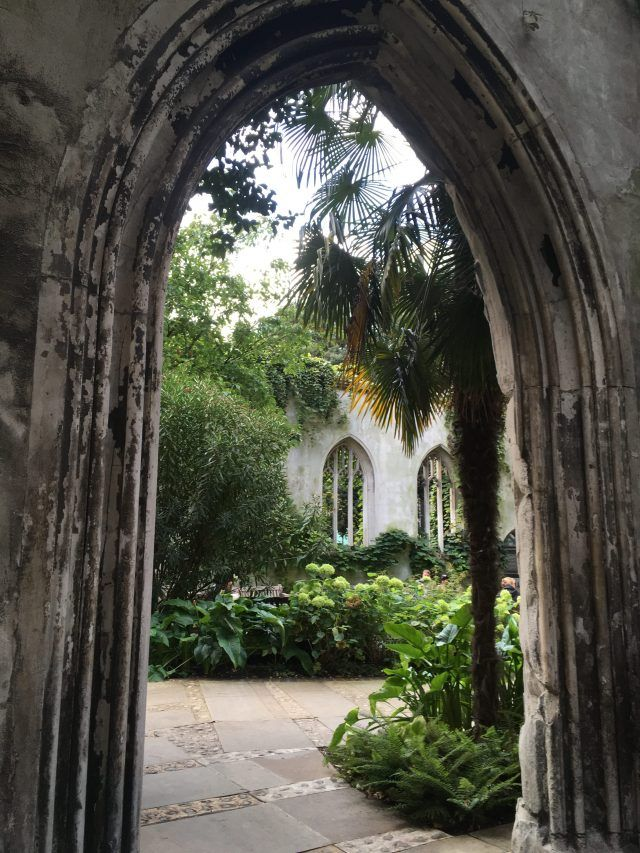 St Dunstan's in the East is a public park in the middle of a ruined church in the City of London. It's one of London's many hidden treasures you could walk past for years without noticing. Here's 14 more.
