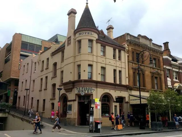 The Russell Hotelis said to be Sydney's most haunted hotel.