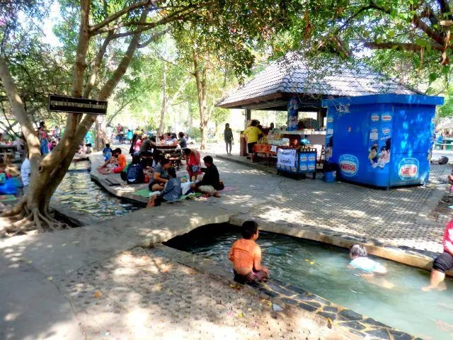 You'll find some interesting hot springs near Chiang Mai. Called San Kamphaeng they are a traditional Thai day out.