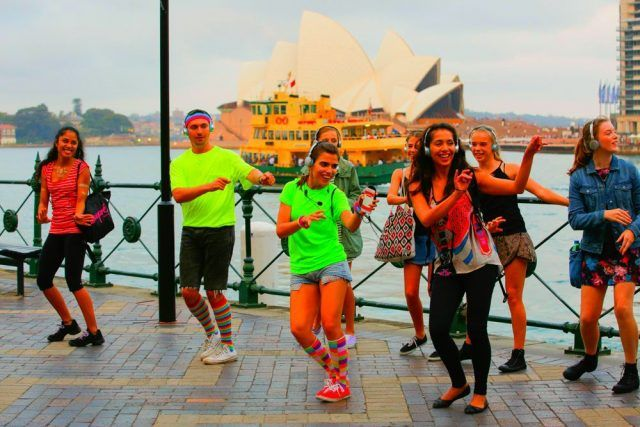 Trying a Silent Disco is one of the fun things to do in The Rocks, Sydney
