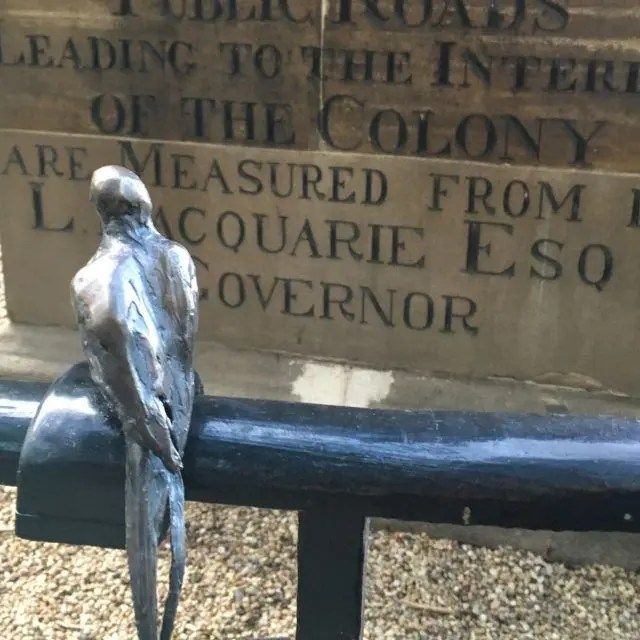 Look closely around Sydney and you'll see 67 tiny bronze birds scattered around one area of the Sydney. It's an artwork by Tracey Emin - here's what you need to know