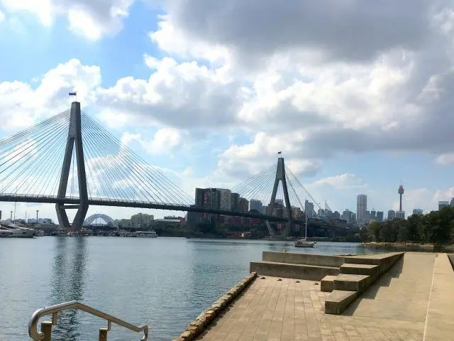 The Gelbe Foreshore walk is a 2km walk in West Sydney - with some gorgeous views of the water.