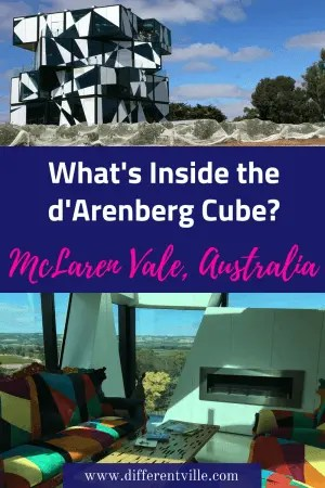IThe d'Arenberg Cube is the newest addition to the McLaren Vale wine region near Adeliade, South Australia. But what's inside - we reveal all. #darenbergcube #mclarenvale #adelaide