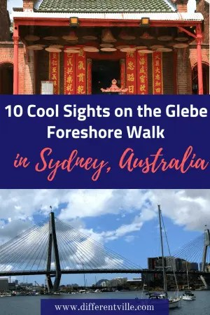 The Glebe Foreshore Walk is one of the prettiest walks in Sydney - but there's more to it than the gorgeous water views. Here's 10 quirky sights you'll also find on the Glebe Foreshore Walk. #sydneywalks #glebe #thingstodoinsydney