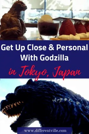 The Godzilla Statue in Shinjuku, Tokyo is brilliant fun - he roars eight times a day. But many people don't know you can get up close and personal with him. Here's how to do that - and a guide to Tokyo's other must see sights for Godzilla fans. Click to read it now or save it to one of your boards for later. #tokyo #thingstoseeintokyo #Godzilla #Godzillatokyo