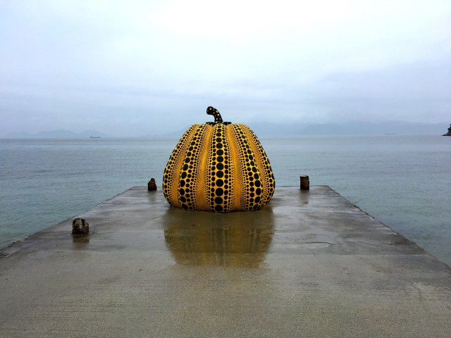 The big pumpkin on Naoshima art island is one of the most instgrammed sights in Japan, but how easy is it to visit Naoshima Island in one day. We found out