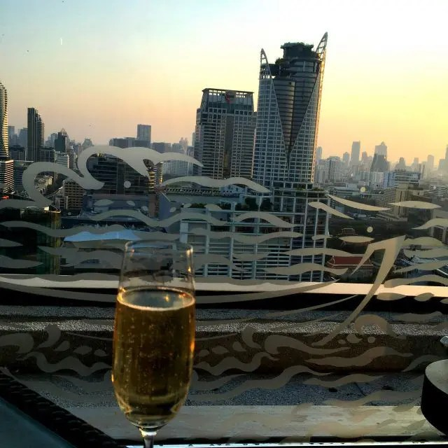 View from the Amari Watergate Bangkok
