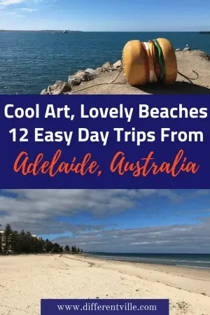 Planning a trip to Adelaide, South Australia? Don't just stay n the city itself - there's heaps of really cool day trips from Adelaide. We've picked 12 that are nearly all just a short drive, or a train, tram or bus ride away. #adelaide #daystripsfromadelaide #thingstodoinadelaide