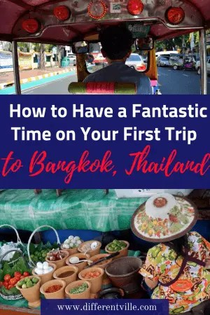 Planning a trip to Bangkok? So many people I know, including me, hate it the first time they go. But after going back seven times, I think I've learned a few trips to help you love it and have an amazing time. Here's what to do, eat and see and where to stay to have a brilliant first trip to Bangkok, #bangkok #bangkoktraveltips #bangkoktripplanning