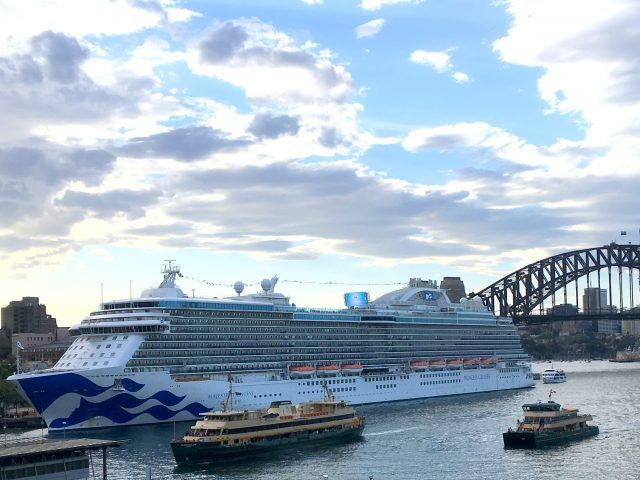 Majestic Princess is the largest Princess ship to sail in Australian waters.