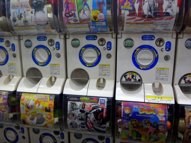 Akihabara Gachapon Kaikan is one of hthe best places in Tokyo to find Gachapon toys