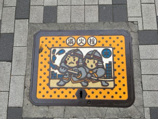 Keep your eyes peeled in Tokyo for the themed manhole covers - they are a unique thing to see in Japan