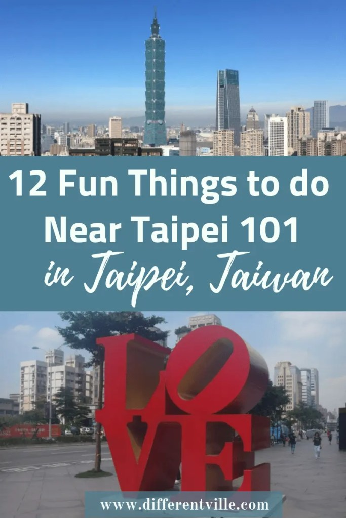 If you're planning a trip to Taipei, Taipei 101 is likely to be on your list of things to see in Taipei - but, don't stop there, there are a lot of cool, fun things to do near Taipei 101. Click to read it now or save it to your Taipei or Taiwan boards for later. #taipei #taipei101 #taiwan #thingstodointaipei