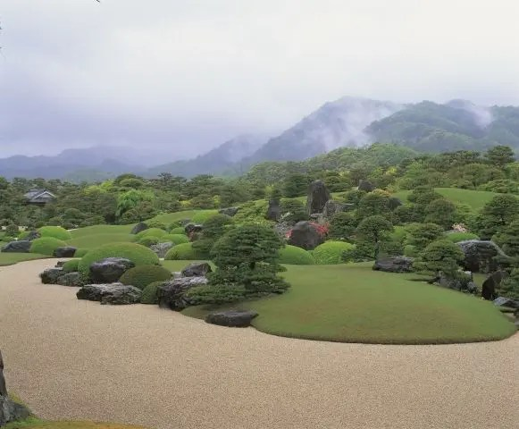 The Dry Landscapre Garden at the Adachi Museum of Art, Japan