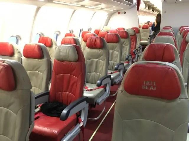 Quiet Zone Air Asia X