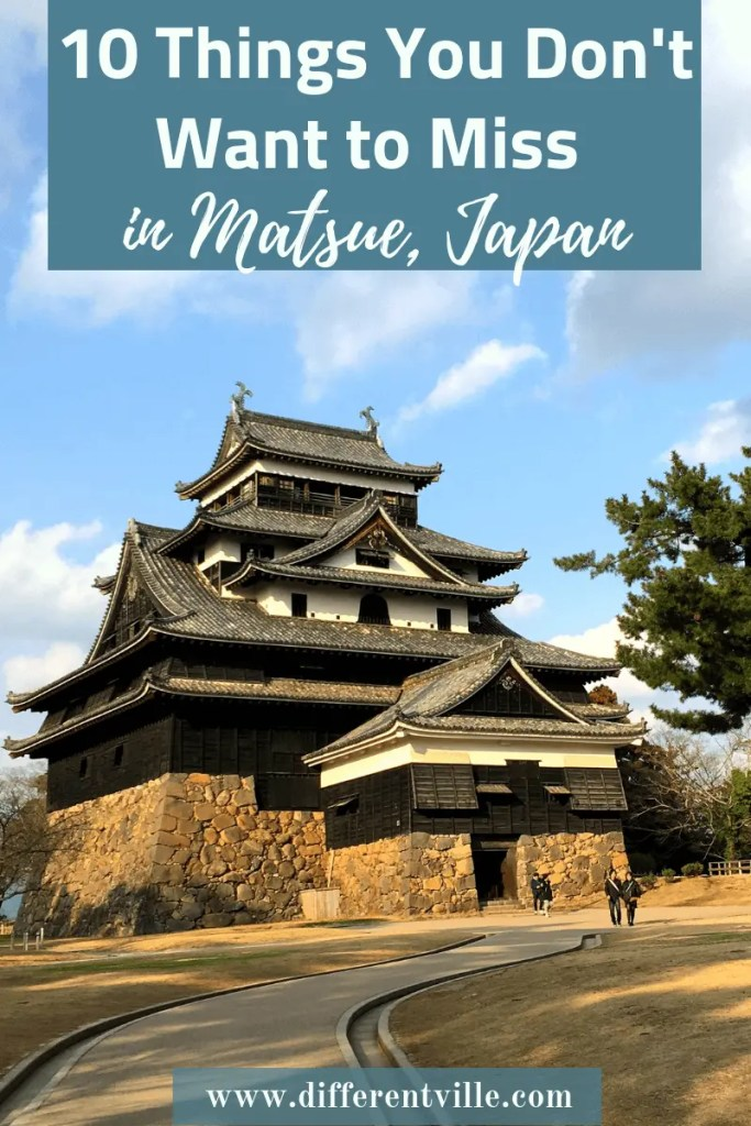 Matsue Castle is one of just 12 fully preserved castles left in Japan