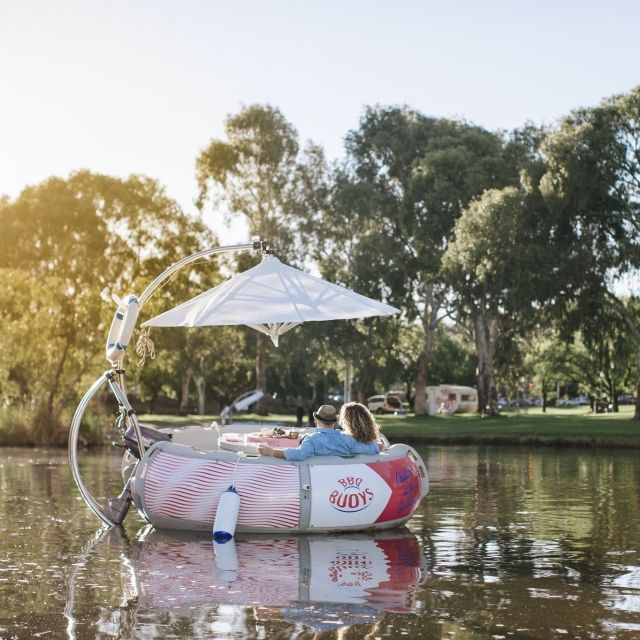 BBQ Buoys BBQ boat on the River Torrens, Adelaide