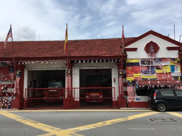 Fire station in Klang